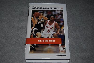 The 2-3 Zone Defense by Jim Boeheim - Syracuse University.  Coaches Choice VHS