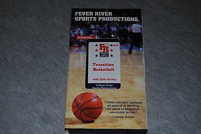 Transition Basketball by Bob Hurley.  Fever River Sports Productions VHS Video