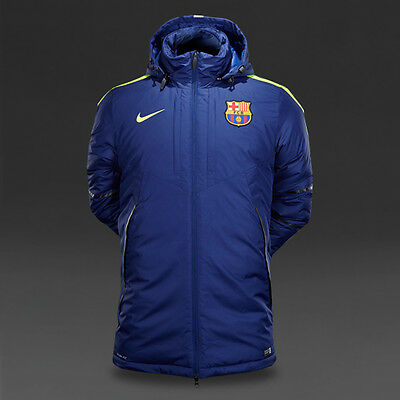 Size Large - Nike FC Barcelona Medium Fill Official Players Jacket Coat
