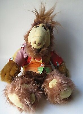 """Vintage 1986 ALF 18"""" Plush Doll Coleco Alien Character Productions TV Toy"""