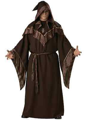 Gothic Wizard Priest Costume Adult Men's Halloween Fancy Dress Cosplay Outfit