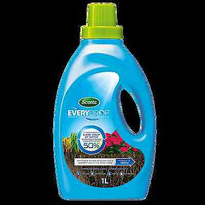 Scotts EVERYDROP LIQUID SOIL WETTER CONCENTRATE for Sandy & Hydrophobic Soils 1L