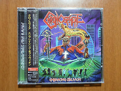 Chronosphere - Embracing Oblivion Greek Thrash JAPANESE Version w/ Bonus