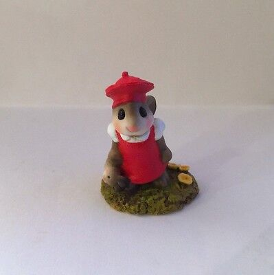 Teaberry Meadow Mon Petit Lapin Red Like Wee Forest Folk Mint Bunny Figurine