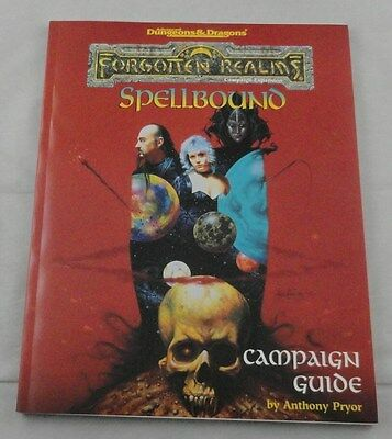 Advanced Dungeons & Dragons Forgotten Realms Spellbound Campaign Guide 1121