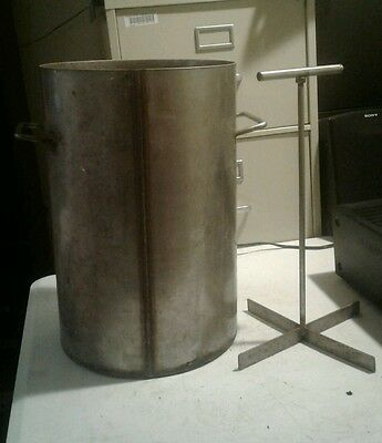 """18"""" Deep By 12"""" Wide Industrial Grade Stainless Steel Pot"""