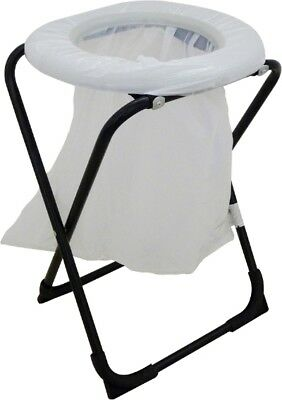 Folding Toilet Chair with Bags