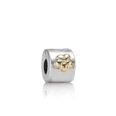 Buttercup Gold & Silver Fixed Clip Charm - PANDORA