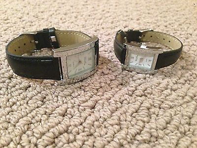 Brand New The Palms Las Vegas Quartz His And Hers Watches Black Band