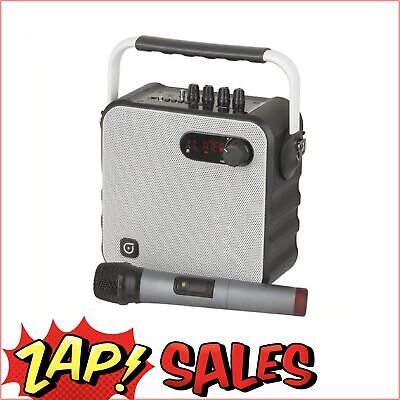 Portable Wireless UHF PA System with Microphone