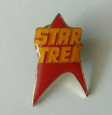 Vintage 1986 collectable Hollywood star trek rare lapel pin