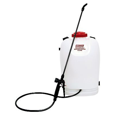 Silvan RECHARGEABLE BACKPACK SPRAYER 16L TANK Built-In Li-Ion Battery*Aust Brand