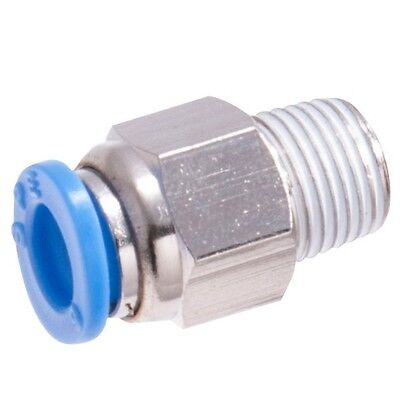 Sonsbeek PUSH-IN FITTINGS 2Pcs, 1/4 Inch Male Thread *Aust Brand– 8 Or 10mm Tube