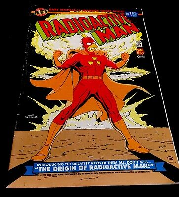 RADIOACTIVE MAN # 1 The Simpsons RARE COMIC BOOK GC FAST FREE POST