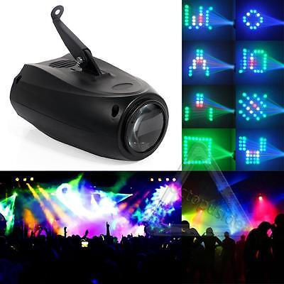 RGB LED Lights Laser Stage Effect Lighting Music Active Club Disco DJ Bar Party