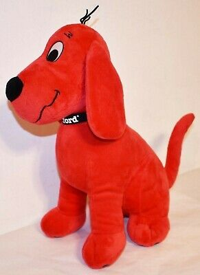 """Clifford The Big Red Dog Plush Kohl's Cares Toy 14"""" Tall"""