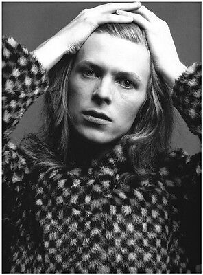 VINTAGE DAVID BOWIE PHOTOGRAPH - quality glossy A4 print