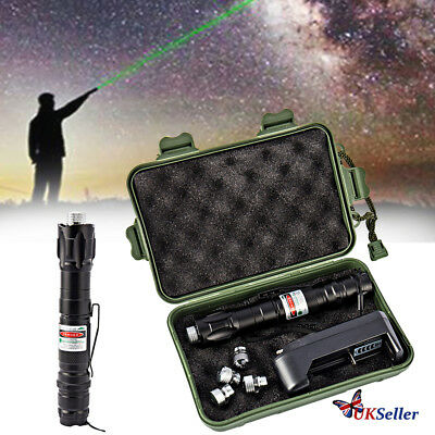 Professional Laser Pointer Kits 532nm 1mw Powerful Green Light Pen Lazer Beam