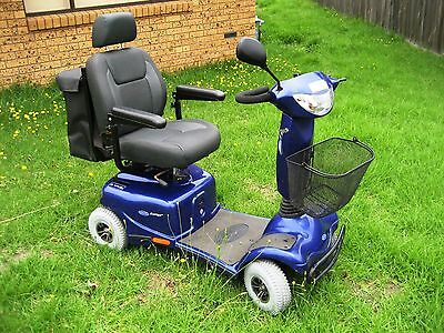 4-Wheel Invacare Auriga 10 w/ New Batteries Electric Mobility Scooter Wheelchair