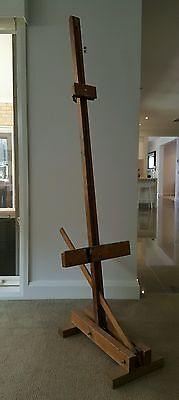 Easel timber Artist