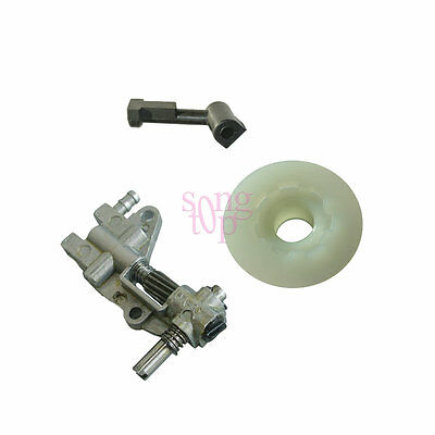 Oil Pump Oil Pump Pipe With Worm For Chinese 4500 5200 5200 45cc 52cc Chainsaw
