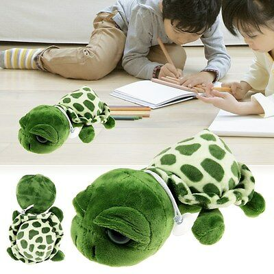 Cute Big Eyes Green Tortoise Turtle Animal Stuffed Plush Toy Kids Gift 20CM