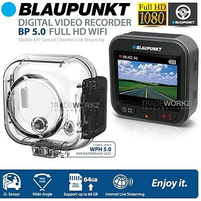 New Blaupunkt BP5.0 Full HD Action Dash Camera Waterproof Case with WiFi Car DVR