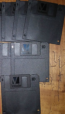 Lot 7 Disquettes Vertabim Hd Neuves Sans Emballage   /039