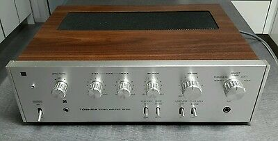 Toshiba SB-300 Stereo Amplifier Vintage 1973 Solid State Retro