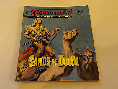 Commando War Comic Number 644!!,1972,good For Age,45 Years Old,very Rare.