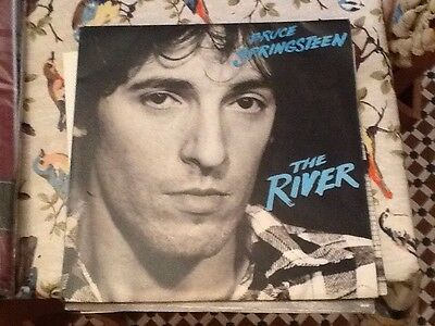 Bruce Springsteen The River Original Double Vinyl LP With Lyric Sheet