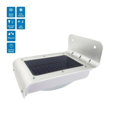 Solar Powered LED Motion Sensor Outdoor Path / Wall / Garden Security Light-AUS