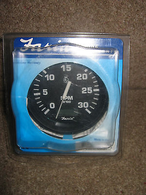Faria Tachometer 0 To 3000 RPM . TD8185D Rev Counter, unused, boat car diesel ?