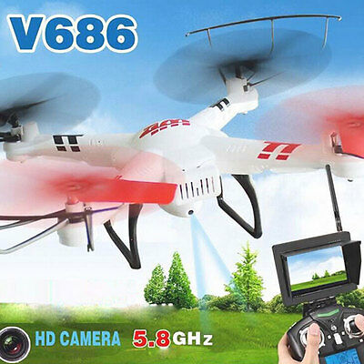 Wltoys V686G 5.8G FPV RC Drones With 2MP Camera Dron Professional RTF Mode 2