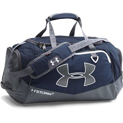 Under Armour Undeniable II Duffel Bag Midnight Navy/Graphite/White S