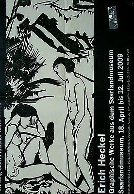 affiche art exposition Heckel expressionnisme
