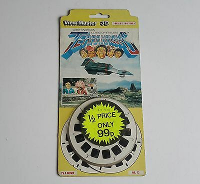 Viewmaster three reel carded packet set 3d TERRAHAWKS #2  Sealed Gerry Anderson