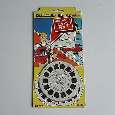 Viewmaster three reel carded packet set 3d MASK TV SERIES Sealed unopened