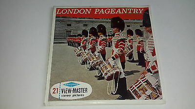 Viewmaster three reel set 3d LONDON PAGEANTRY C295 Sawyers