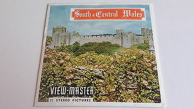 Viewmaster three reel set 3d  SOUTH & CENTRAL WALES  Sawyers