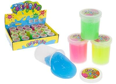 MINI CRYSTAL NOISE PUTTY Silly Jokes Gag Tricks Fart Toilet Rip Play Tricks Fun