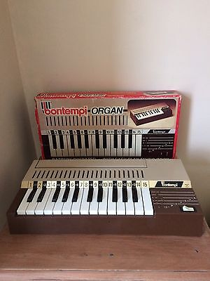 Bontempi Battery Operated Organ Vintage Retro Musical Instrument Collectable Toy