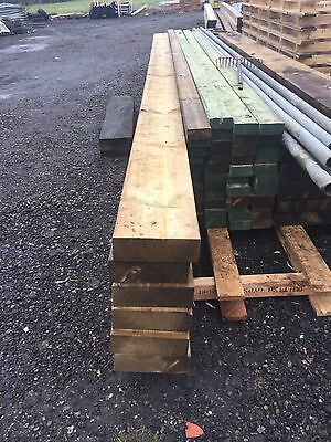 "9x3"" 6m Green Treated Timbers"