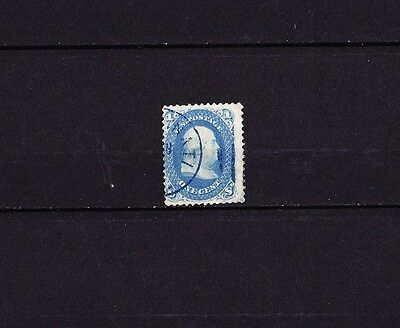 USA US Postage 1861 1c. bleu Franklin