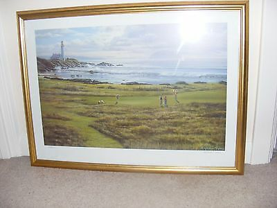 Framed Print Of Turnberry Golf Course By Raymond Sipos
