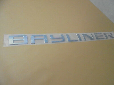 "38"" Bayliner Hull Name Emblem"