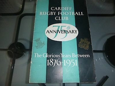 Cardiff Rugby V The Lions Rugby Programme 1950
