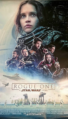 ROGUE ONE A STAR WARS STORY MOVIE POSTER 2 Sided ORIGINAL FINAL B1 70cmx100cm
