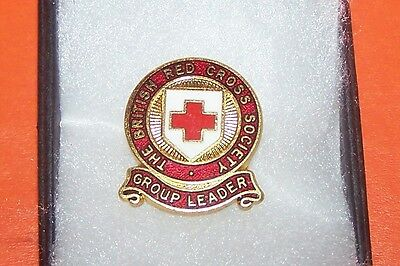 The British  Red Cross Society Group Leader Badge Boxed