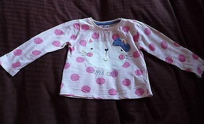 ** Cute Cat Top - Young Dimensions (18 - 24 months) **